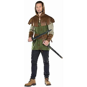 King of Thieves Men's Costume Warrior King Carnival Thief 3-delige