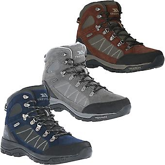 Trespass Mens Chaves Waterproof Mid Cut Outdoors Walking Hiking Boots Shoes