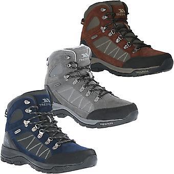 Trespass Herren Chaves wasserdicht Mid Cut Outdoor Walking Wanderstiefel Schuhe