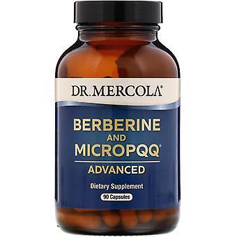 Dr. Mercola, Berberine och MicroPPQ Advanced, 90 kapslar
