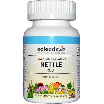 Eclectic Institute, Nettle Root, Raw, 250 mg, 90 Non-GMO Veggie Caps