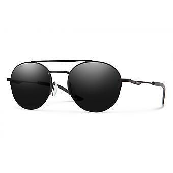النظارات الشمسية Unisex الناقل الاستقطاب مات الأسود / الرمادي