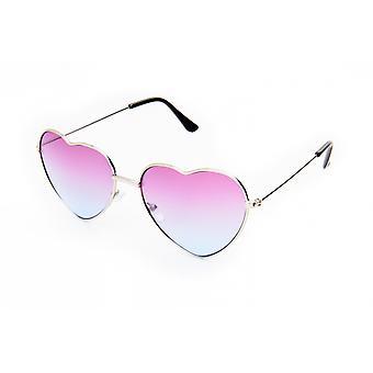 Gafas de sol Unisex plateadas/violetas (20-122)