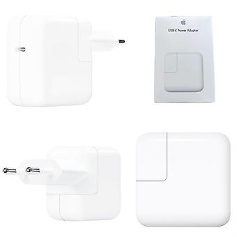 Chargeur officiel apple 29W EU 2 Pin USB-C Power Adapter Chargeur - Blanc - A1540