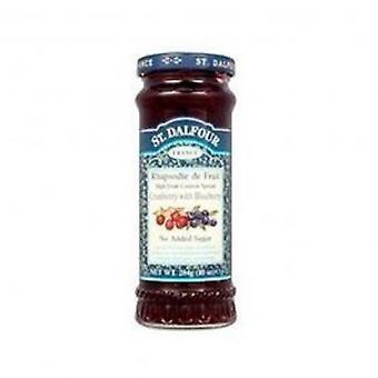 St Dalfour - Cran & Blueberry Fruit Spread 284g