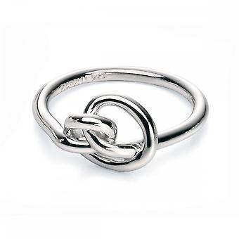 Fiorelli Silver Knot Ring R3465