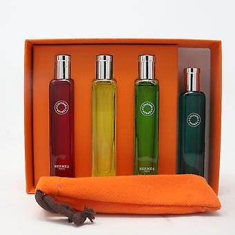 Hermes Hermes Colognes Collection 4-Pcs Travel Set  / New With Box