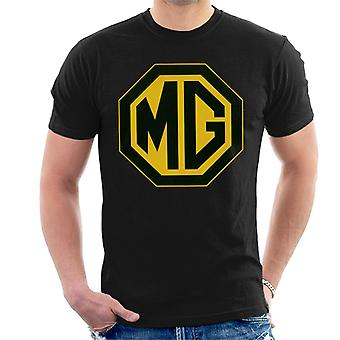 MG Black and Gold Logo British Motor Heritage Men''s T-Shirt