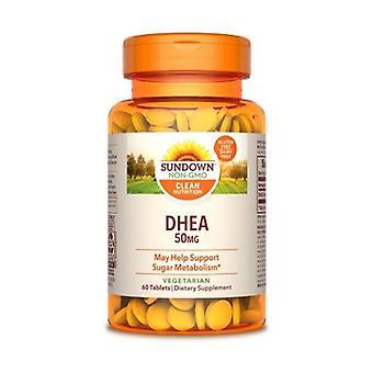 Sundown Naturals Dhea, 50 mg, 12 X 60 Tabs