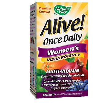 Nature's Way Alive Once Daily, Women's 60 Tabs