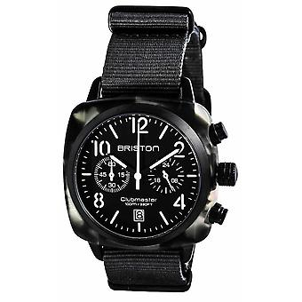 Briston Clubmaster Trendsetter Chronograph Watch - Grey/White/Black