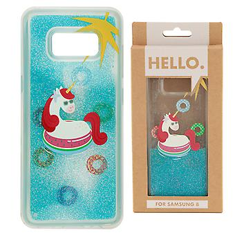 Samsung 8 Phone Case - Tropical Vacation Vibes Unicorn
