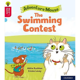 Oxford Reading Tree Word Sparks Level 4 The Swimming Contest by Abbie Rushton & Illustrated by Emma Levey