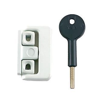 Yale Locks 8K101 Window Latch White Finish Visi YALV8K101LKW