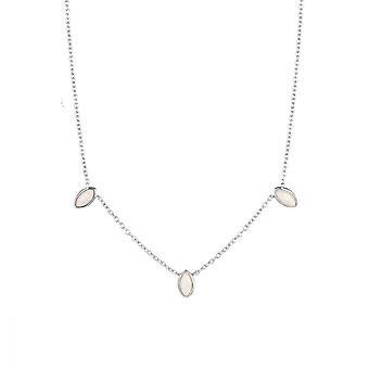 Silber Halskette 925 und Opal