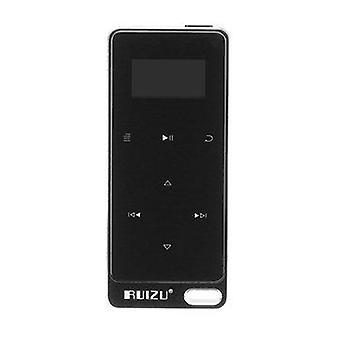 RUIZU X05 16GB Dotykový panel Bez stratový HIFI krokomer E-book Reader MP3
