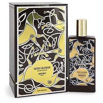 Irish Leather By Memo Eau De Parfum Spray 2.5 Oz (women) V728-544232