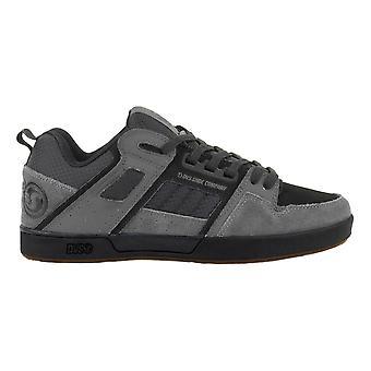 DVS Comanche 2.0+ Shoes - Charcoal Black Gum Suede