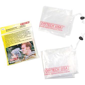 Op/tech rainsleeve - small, 2 pack (clear) small 8-inch