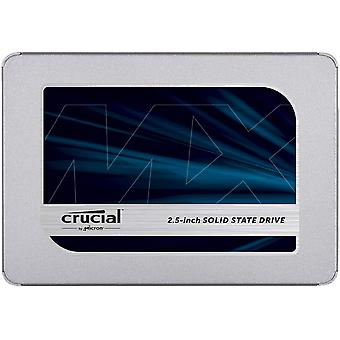 Crucial mx500 500 gb ct500mx500ssd1-up to 560 mb/s (3d nand, sata, 2.5 inch, internal ssd) standard