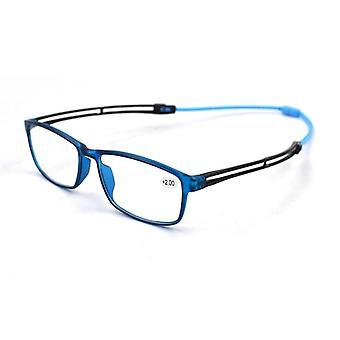 Unisex Ultralight Magnet Appendere occhiali da lettura Donne Uomo Gambe regolabili