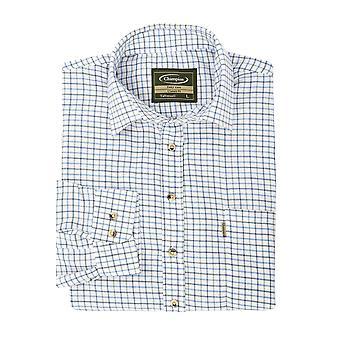 Walker and Hawkes - Mens Long Sleeved Cotton Check Shirt