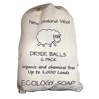 Premium New Zealand Organic Wool Jumbo Dryer Balls