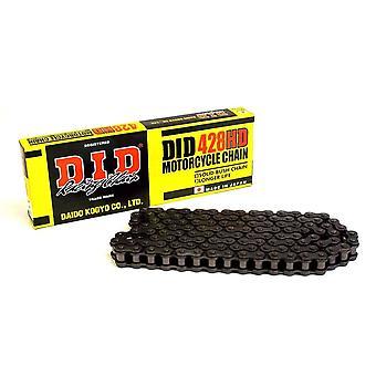 DID 428-132 Heavy Duty Drive Chain Black for Yamaha YZF-R125 MT125