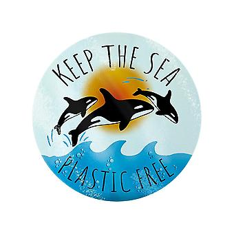 Grindstore Keep The Sea Plastic Free Chopping Board