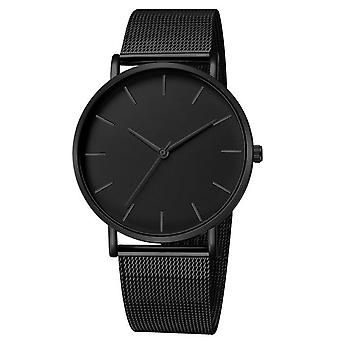 Luxury, Mesh, Stainless Steel Casual Bracelet Quartz Watch For Ladies Watch