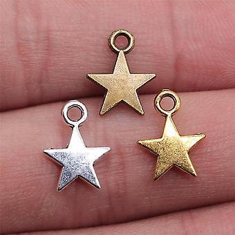 Pieni tähti riipus charmi korujen tekeminen