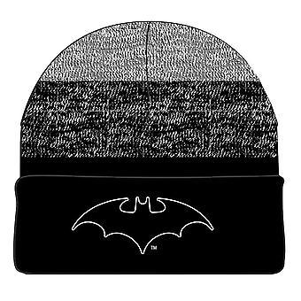 Batman klassiske logo Heather Beanie