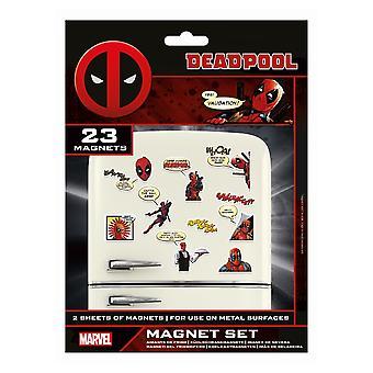 Deadpool Comic Fridge Magnet (Pacote de 23)