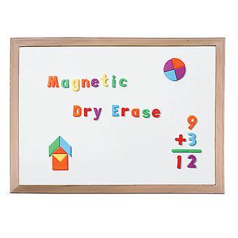 """Wood Framed Magnetic Dry Erase Board 18"""" X 24"""""""