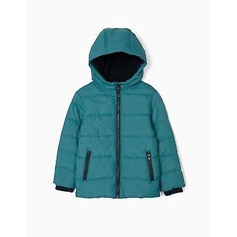 Zippy Puffer Jacket Blue