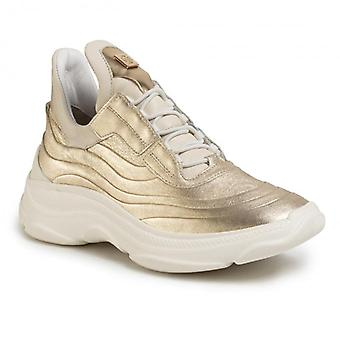 Hogl visionary gold trainers womens gold