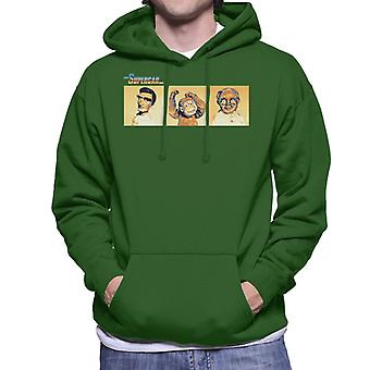 Supercar Mike Mitch And Professor Popkiss Men's Hooded Sweatshirt
