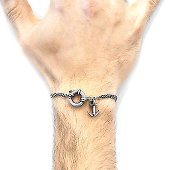 ANCHOR & CREW Clyde I Anker Silber Kette Armband