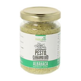 Organic Hemp Pesto with Basil 130 g
