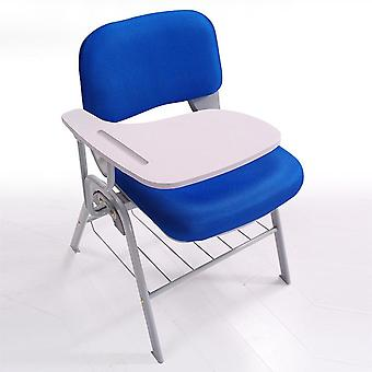 Foldable Conference Training Staff Chair With Writing Board