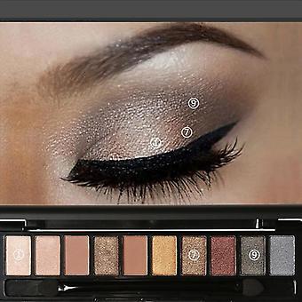 10 Colors Natural Light Eye Shadow Makeup Shimmer Matte