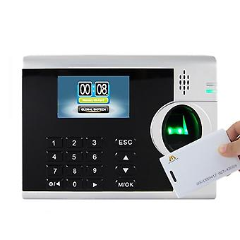 Biometric Fingerprint Time Attendance With Rfid Card Reader