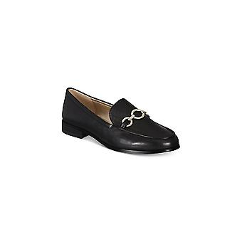 Bandolino Womens Lehain Leather Round Toe Loafers