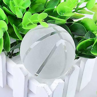 Creative gift ornaments 80mm basketball production process carving material white crystal crystal ball crafts
