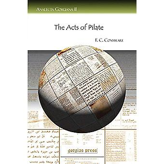 The Acts of Pilate by F.C. Conybeare - 9781593334895 Book