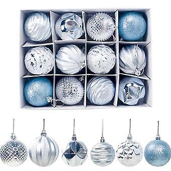 12 kpl joulutarvikkeita lahja koristelu pallot 6Cm