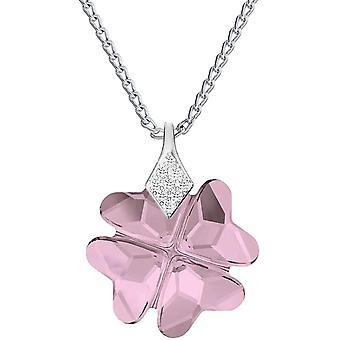 *Beforia Paris* Halskette - Glcklicher Klee - Farben Varianten - Glckssymbol - mit Silberkette aus