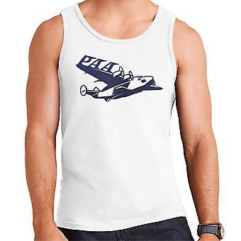Pan Am Paa Wing Navy Flock Men's Vest