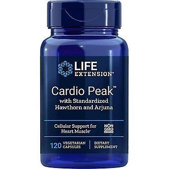 Life Extension Cardio Peak med standardiseret tjørn og Arjuna Vegicaps 120