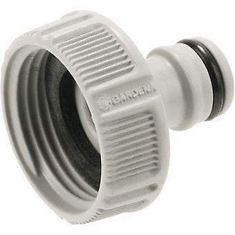 thread drill 33.3 mm/1 inch PVC/rubber 12 grams grey